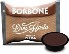 200 Capsule Borbone Don Carlo NERA Compatibili Lavazza A Modo Mio