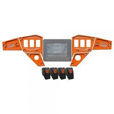 Billet 6 Piece Orange Interactive GPS Dash Panel Upgrade Polaris RZR XP1000 UTV