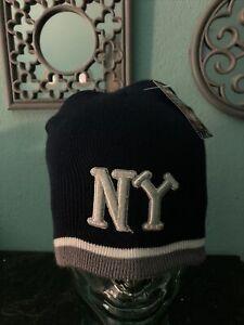 New York Black Yankees NY Negro League Winter Knit Skull cap NWT Authentic