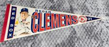 RARE! 1989 Roger Clemens Boston Red Sox Salem Screen Printers Pennant 21