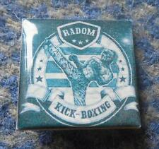 RADOM KICK BOXING - POLAND KICK BOXING CLUB PIN BADGE