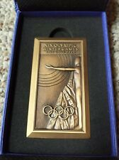 Official Winter Olympic Participation Medal for Volunteers Salt Lake City 2002
