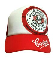 Coopers Sparkling Ale Hat Mens Red Trucker Cap Beer Brewery