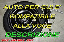 Kit Ruotino R15 Toyota Aygo-YARIS-P 108-Hyundai I20 I10-Kia Picanto-MAZDA 2