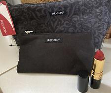 REVLON MAKE UP COSMETIC BAG SET PLUS LIPSTICK 051 Brand New
