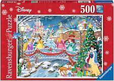 Ravensburger Christmas puzzle * 500 t * Disney * las princesas celebrar Navidad