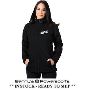 FXR Womens Pulse Softshell Jacket Spring Summer Fall Winter Waterproof