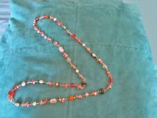 Darling VINTAGE & New BEAD Necklace - FLAPPER Style - CAN Tie IN Knot - LONG!!