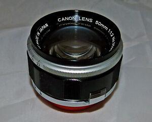 CANON 50mm f/1.2 LTM LENS - NICE!