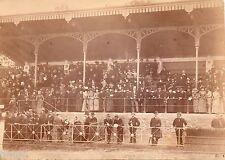 C153 Photographie originale vintage Foule tribune vers 1900