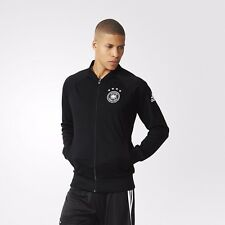 Adidas Mens Germany Anthem Jacket EURO 2016 Black Football Soccer Deutschland