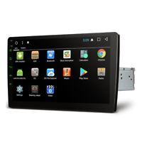 """10.1 """" Android 7.1 2 DIN WIFI 4G Satnav USB Autoradio con schermo SPECCHIETTO"""