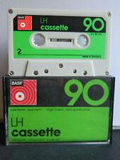 BASF LH  C 90 Compact Cassette 1974  Sammler Selten  Audio-Cassette  TAPE
