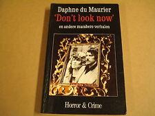 POCKET / DON'T LOOK NOW EN ANDERE MACABERE VERHALEN - DAPHNE DU MAURIER