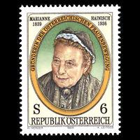 Austria 1989 - Anniversary of the Birth of Marianne Hainisch - Sc 1449 MNH