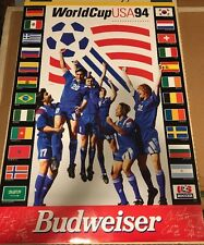 Vintage WORLD CUP SOCCER 1994 poster BUDWEISER