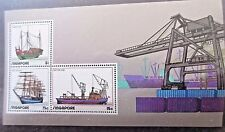 Singapore.1972 Shipping Mini Sheet.SG MS 188 .MNH.