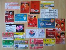 20 football tickets THAILAND football tickets THAILAND voetbal tickets foot