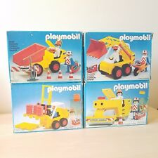 PLAYMOBIL # 3506, 3507, 3508, 3533 CONSTRUCTION SETS
