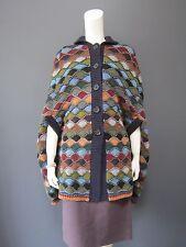 PRADA cashmere & wool cape NEW   size 40 italian   A MASTER PIECE
