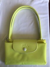 Longchamp Le Pliage Club Tote in Large in Yellow Brand New NWT $140