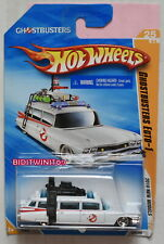 HOT WHEELS 2010 NEW MODELS GHOSTBUSTERS ECTO-1 BAD CARD