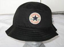BNWT - CONVERSE Chuck Taylor All Star  Bucket Sun Hat  Black   M / L