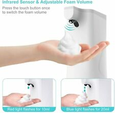 Dispensador de Jabón Sensor Automático 350ml líquido desinfectante Touchless montado en la pared