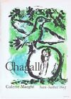 Marc Chagall Galerie Maeght Mourlot Poster Offset Lithograph 10'' x 14'' 1966