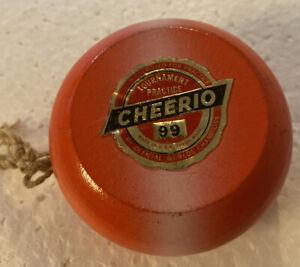 Vintage Cheerio yo-yo 1950s RARE paper label Outstanding Condition
