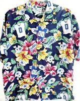 NFL Dallas Cowboys-Mens Hawaiian Shirt, Extra Large-XL, 100% Rayon, Awesome!