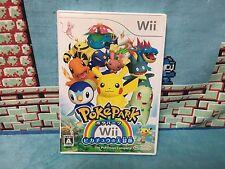 Pokepark Wii Pikachu no Daibouken Japan NTSC-J Nintendo Pokemon