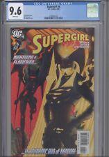 Supergirl #6  CGC 9.6 2006 DC Ian Churchill Cover Greg Rucka Story:  New Frame: