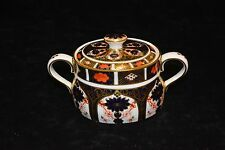 Royal Crown Derby Old Imari Covered Sugar Bowl Cute ..perfect condition