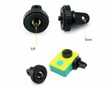 "1/4"" Tripod Screw Adapter Mount Camera GoPro Hero 6 5 4 3 + 4K Action Cameras UK"