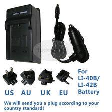 BLi-286 Battery Charger for POLAROID T1031 T1035 T1234 Digital Camera AC/DC/Car