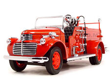 1941 GMC FIRE TRUCK ENGINE RED WITH ACCESSORIES 1:24 BY ROAD SIGNATURE 20068