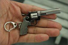 REVOLVER GUN PORTACHIAVI  PISTOL WEAPON KEYCHAINE ARMA CLINT EASTWOOD COWBOY FLM