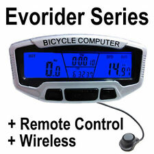 Wireless LCD Bicycle Bike Cycling MTB Computer Odometer Speedometer Velometer