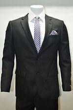 Men's Black 2 Button Classic-fit Linen Blazer SIZE 42S NEW