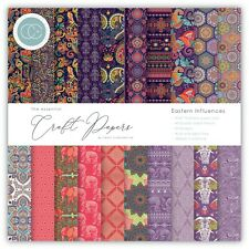 "New Craft Consortium 6"" x 6"" Paper Pad Craft Papers - Eastern Influences"