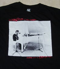 John Lennon T Shirt (M) Medium Imagine Peace beatles bob dylan who doors