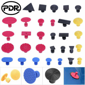 31pc PDR Tools Paintless Dent Removal Dent Puller Tabs Repair Puller Accessories