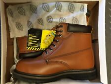 NEW IN BOX - Dickies Mens Cleveland Safety Boots Chestnut Size 11 EUR 45