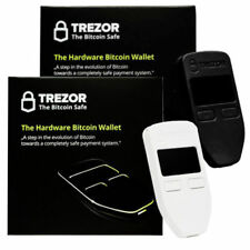 2x Trezor Bitcoin Wallet Litecoin Ethereum DASH Zcash Cryptocurrency NEW