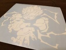 "Dragonball Z Goku Custom Car Decal Sticker 5"" x 5"""
