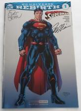 SDCC 2016 SIGNED Pat Gleason Pete Tomasi  DC Universe Rebirth SUPERMAN EXCLUSIVE