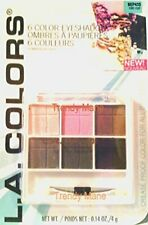 L.A. Colors 6 Color Eyeshadow Bep435 Nite Out (4g)