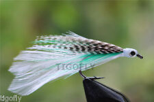 24 Pcs Top Quality Hair Wing Salmon Flies Trout Fly  Saltwater Fly Fishing Lures