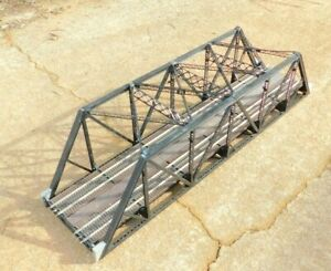 Atlas O 6921 Double Track Truss Bridge 3-Rail O Gauge with Lionel Pins